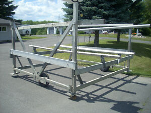 Dockrite 6000 lb rated, electric boat lift.