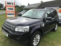 LAND ROVER FREELANDER 2.2 TD4 XS 82000 MILES FULLY LOADED STUNNING EXAMPLE