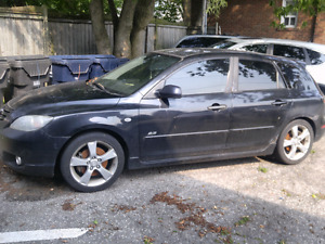 2004 Mazda 3 gt for parts or whole car.