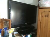 "Samsung 40"" TV with stand"
