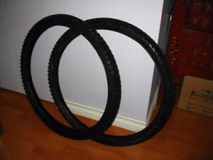 "2 Kendo  26""  Mountain bike tires"