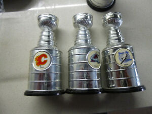 NHL Mini Stanley Cups - used and new