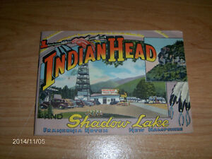 VINTAGE 1940'S INDIAN HEAD/SHADOW LAKE BOOKLET-NEW HAMPSHIRE   I