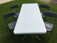 FOLDING TABLES / CHAIRS / EVENT TENTS (FOR RENT)