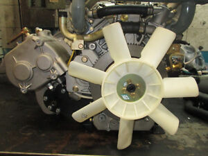 DIESEL ENGINE AND TRANSMISSION WITH CVT CLUTCHES V TWIN EV80 Prince George British Columbia image 6