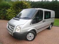 2013/63 Ford Transit T260 TREND 2.2TDCi 125PS SWB LOW ROOF 6 SEAT CREW VAN