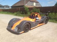 MK GT1 RACE ROAD READY RADICAL, Hayabusa power track car with trailer and moulds