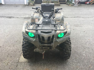 2014 camo Yamaha grizzly 550 with power steering