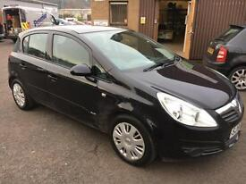 5606 Vauxhall Corsa 1.2i 16v Club Black 5 Door 64315mls