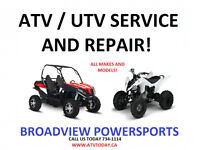 ATV AND SIDE BY SIDE SERVICE!