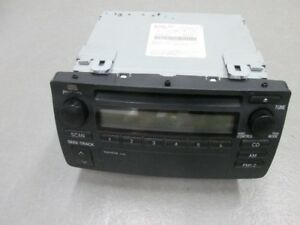 radio cd corolla 2004
