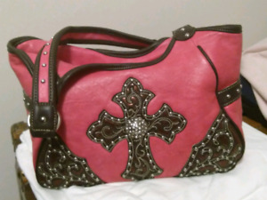 Gorgeous western style leather purse