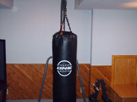 Pouching bag  with  stand and weights