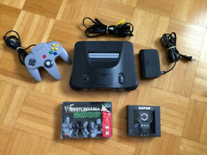 N64 Console with EON Super 64 HDMI adapter