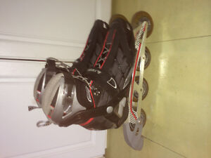 Like new firefly 250 SL performance rollerblades size 11 mens