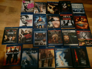 HUGE BLU RAY DVD COLLECTION 74 FILMS MOVIES