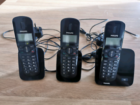 Philips Cordless Phone Model CD170 Trio