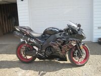 2007 zx10 low low kms