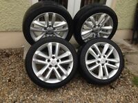 "17"" Vauxhall Vectra SRi Alloys 5x110"