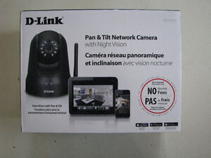 D-Link Pan & Tilt Network Camera with Night Vision (DCS-5010L)
