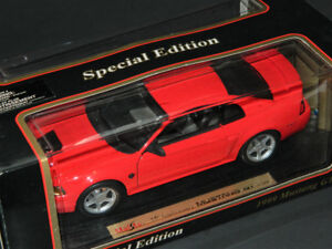 Maisto 1/18 1999 Mustang GT 35th Anniversary Diecast Car Red