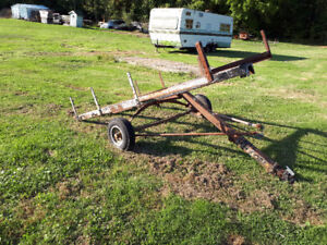Utility Trailer Project .