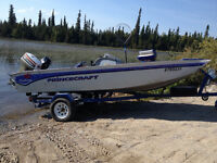 Reduced! Princecraft Boat Motor and trailer for sale!