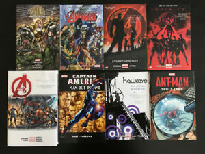 8 MARVEL GRAPHIC NOVELS: Mint/Near Mint Condition