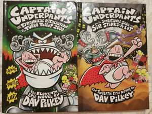 Captain Underpants - 11th & 12th Epic Novels - Hardcover