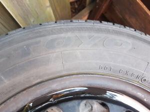 4 pneus toyo 195 65 R15