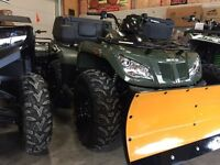 """Free plow, winch, helmet,gloves goggles and 26""""tires"""