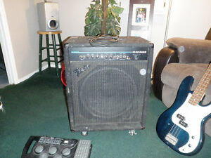 Bass Amp, Bass and Pedal
