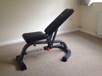 Bodymax weight bench adjustable