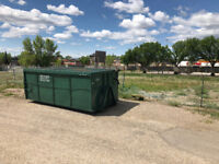 Dumpster Rental $299 All In for 12 yard(7 days, 1 Tonne)