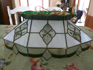 Pool Table or Dining Room Tiffany Stained Glass Fixture