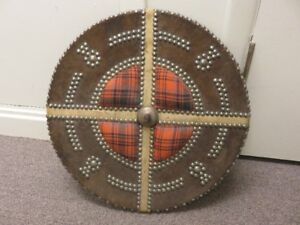 REPRODUCTION SCOTTISH TARGE SHIELD WILSON CLAN ATHENTICALLY MADE