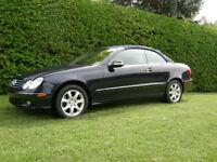 2004 Mercedes-Benz CLK-Class cuire Cabriolet