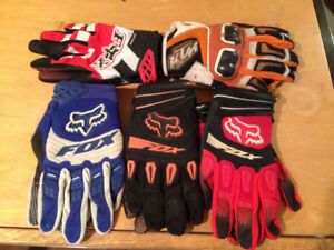 Assorted Motorcycle Gloves - Size XL