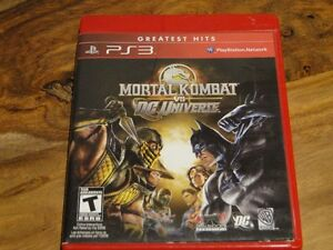 Mortal kombat vs DC Universe / PS3