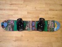 Kids snowboard, Burton Afterschool Special