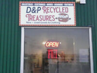 Customers for our Second Hand Store D & P Recycled Treasures