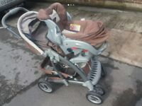 Craco two way pushchair