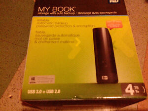 Disque dur externe 4to wd my book