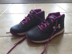 Under Armour kids basketball shoes for girls