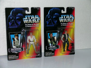 Star Wars Red Card Power of the Force figures Kitchener / Waterloo Kitchener Area image 3