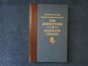 The Adventures of Sherlock Holmes Hard Cover Book 1987