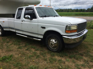 1993 Ford F-350 Cab Plus Dulley