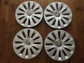 "17"" Inch VW Volkswagen Hubcaps PA66-MD15 OEM"
