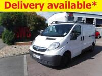 2014 Vauxhall Vivaro 2900 CDTi LWB 2.0 DAMAGED REPAIRABLE SALVAGE