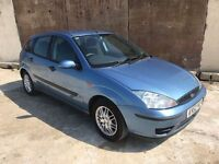 Ford Focus 1.6 *Automatic*5 Door, Service History, Air Con, Alloys, 12 Month Mot, 3 Month Watranty